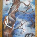 drzewo driada