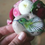 koliber ptak naszyjnik biżuteria