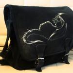 smok zamsz torba