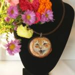naszyjnik z kotem syberyjskim