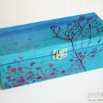 malowana szkatułka