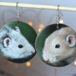 biżuteria ze szczurami